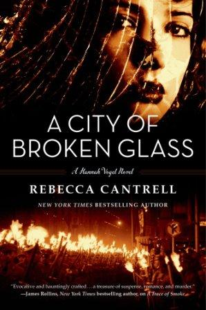 City of Broken Glass Paperback Cover