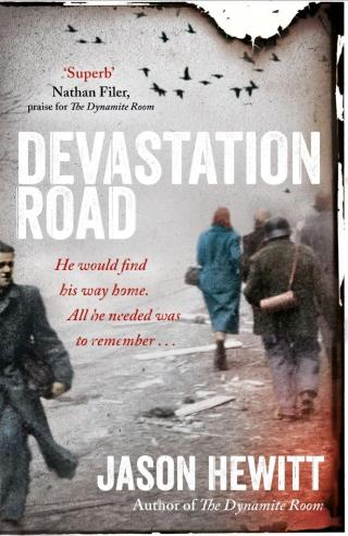 Devastation Road hardback jacket